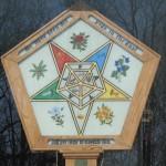 Brandon, VT Freemasons, Park St. Ext. (Occult symbol)